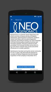 NeoGenomics App screenshot 3