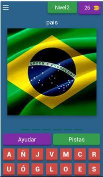 adivina el pais por su bandera screenshot 1