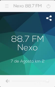 Nexo FM 88.7 poster