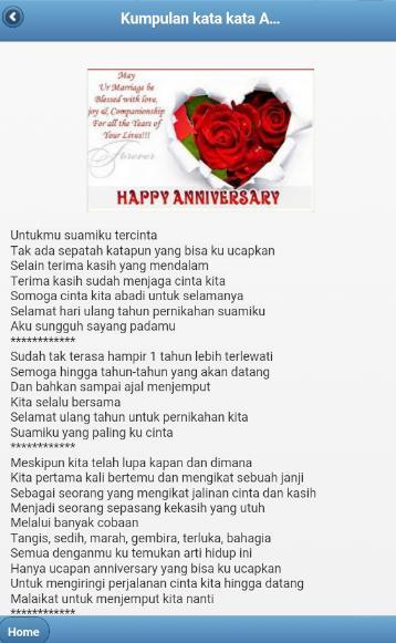 Kata Kata Anniversary 1 Tahun