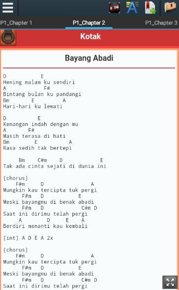 Lirik Dan Chord Lagu Kotak For Android Apk Download