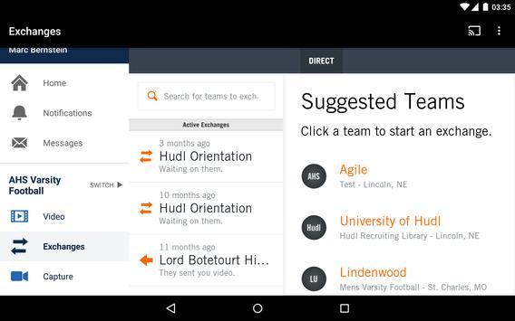 Hudl screenshot 17
