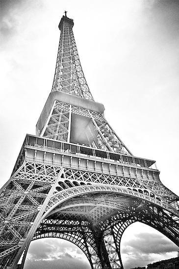 Eiffel Black And White Wallpaper For Android Apk Download