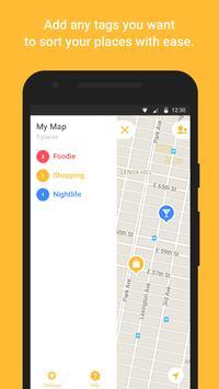 Mapstr screenshot 1