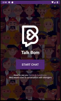 톡봄 Talk Bom - 랜덤, 채팅, 소개팅, 톡친구, 친구사귀기, 데이트 screenshot 1