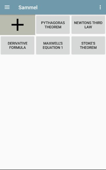 Sammel - Formulas and equations poster
