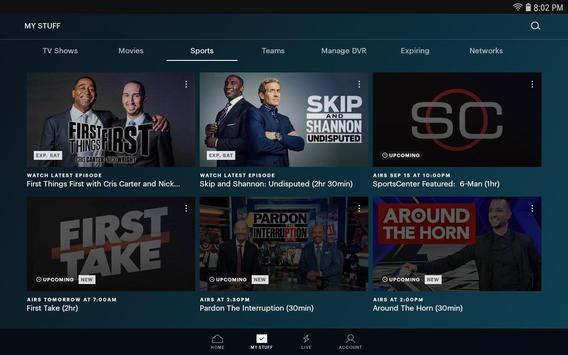 Hulu स्क्रीनशॉट 1