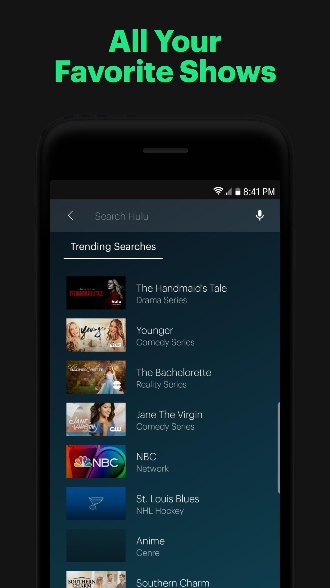 Hulu for Android - APK Download