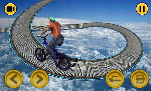 BMX Stunts Impossible Tracks Challenge 3D poster