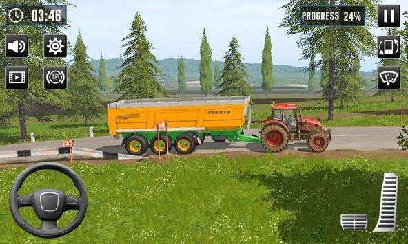 Tractor Drive Farming Simulator 3D screenshot 3