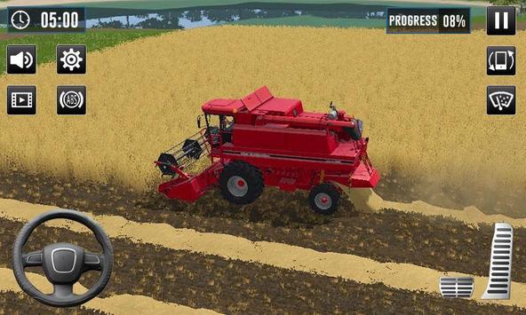 Tractor Drive Farming Simulator 3D screenshot 2