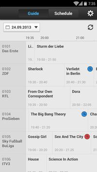 HUMAX TV Guide screenshot 1