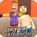 Human Fall Neighbor Flat Mod APK Android