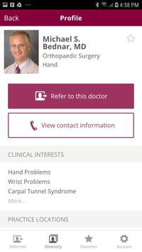Loyola Medicine Referral App screenshot 2