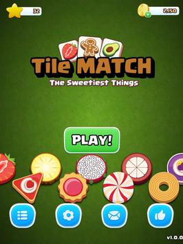 Tile Match Sweet - Classic Triple Matching Puzzle screenshot 11