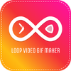 Video Boomerang:Boomerang loop Video Gif Maker-icoon