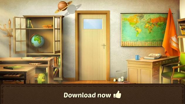 100 Doors Games 2020: Escape from School screenshot 14