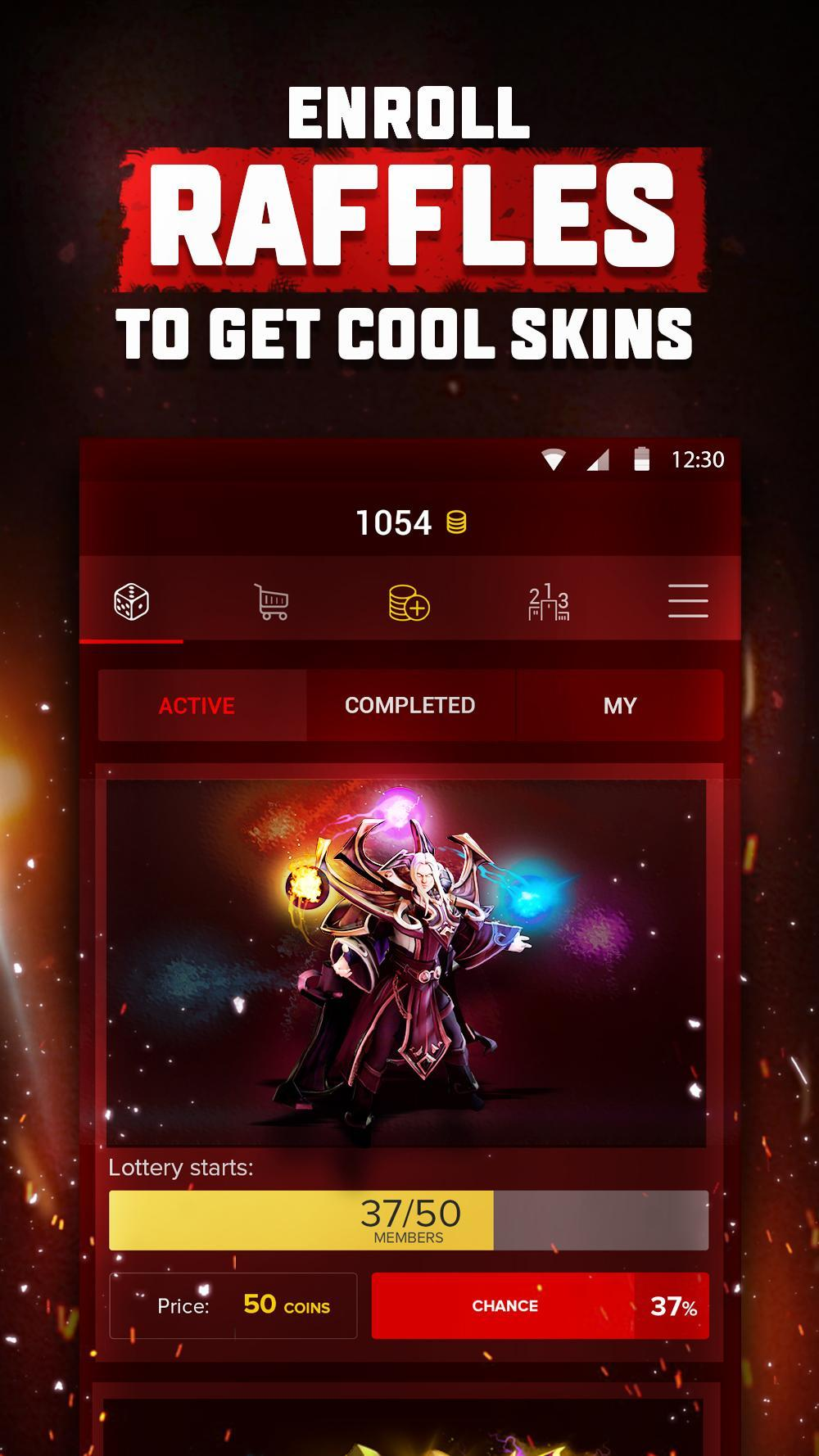 D2F Free items for Dota2 for Android - APK Download