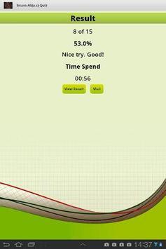 Imam Ali(a.s)Quiz screenshot 3