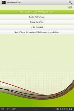 Imam Ali(a.s)Quiz screenshot 2