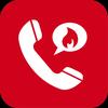 हश्ड -  सेकंड फोन नंबर - कॉलिंग एंड टेक्सटिंग आइकन