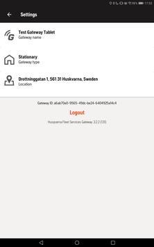 Husqvarna Fleet Services Gateway screenshot 5