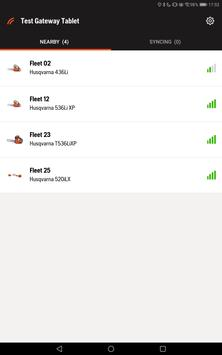 Husqvarna Fleet Services Gateway screenshot 7