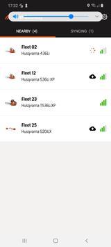 Husqvarna Fleet Services Gateway screenshot 1