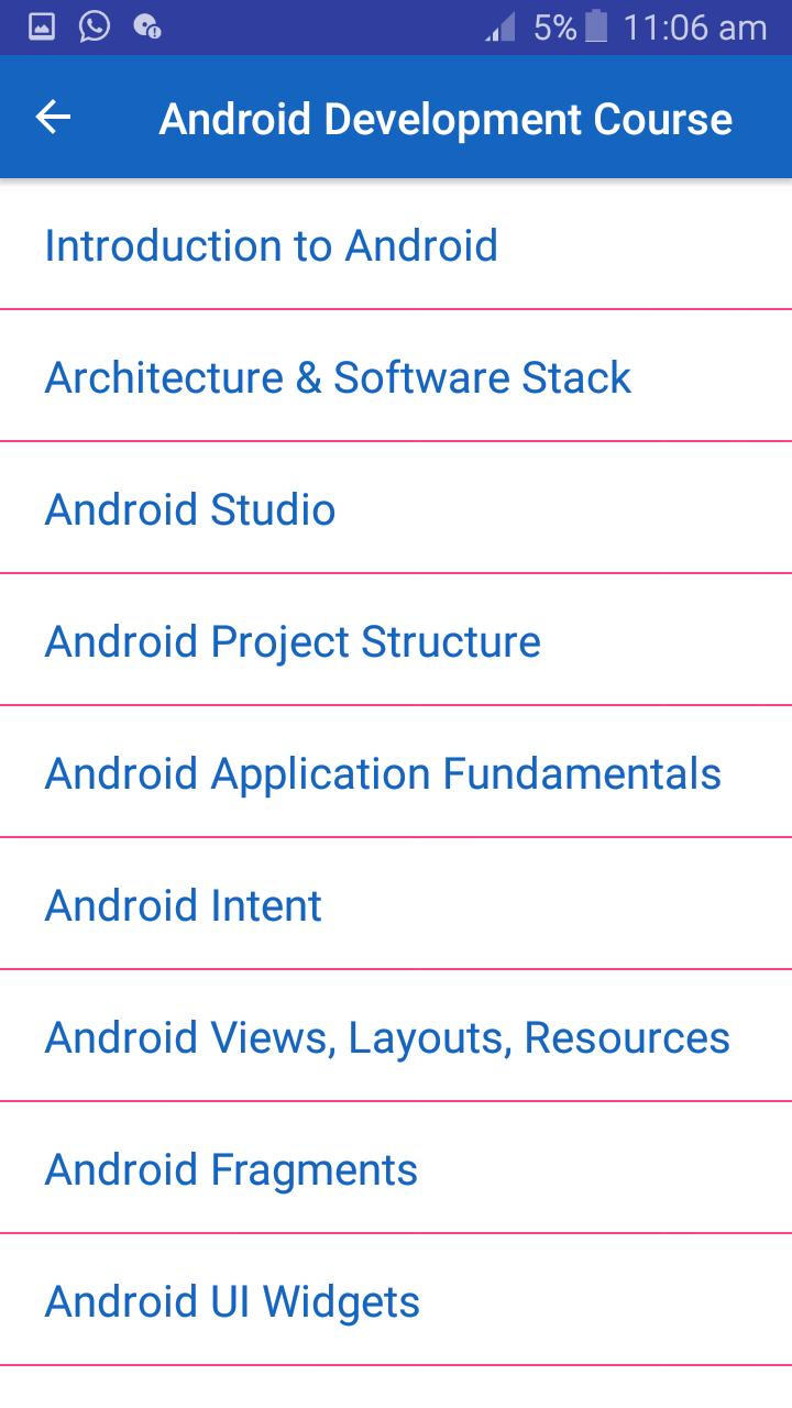 Learn Android App Development: Tutorials for Android - APK