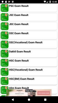 Exam Result For - PSC, JSC, SSC, HSC (মার্কশিট সহ) poster