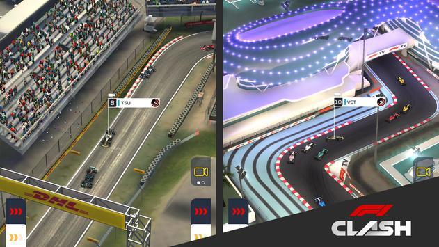 22 Schermata F1 Clash