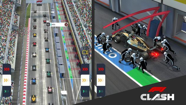 7 Schermata F1 Clash