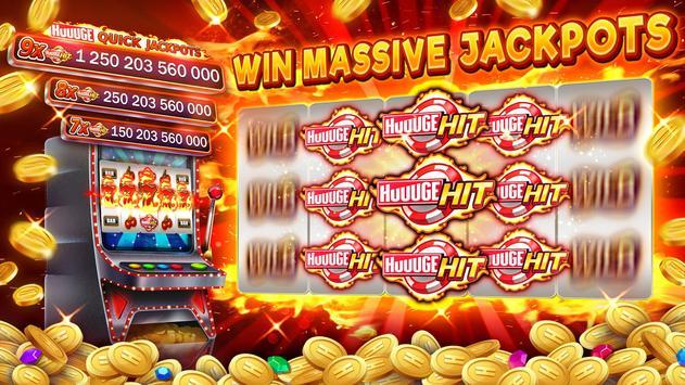 Huuuge Casino ảnh chụp màn hình 1