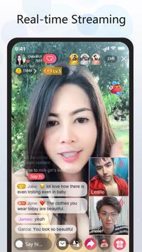 YOME LIVE - Live Stream, Live Video & Live Chat screenshot 1