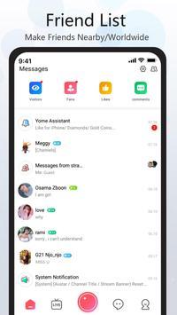 YOME LIVE - Live Stream, Live Video & Live Chat screenshot 4