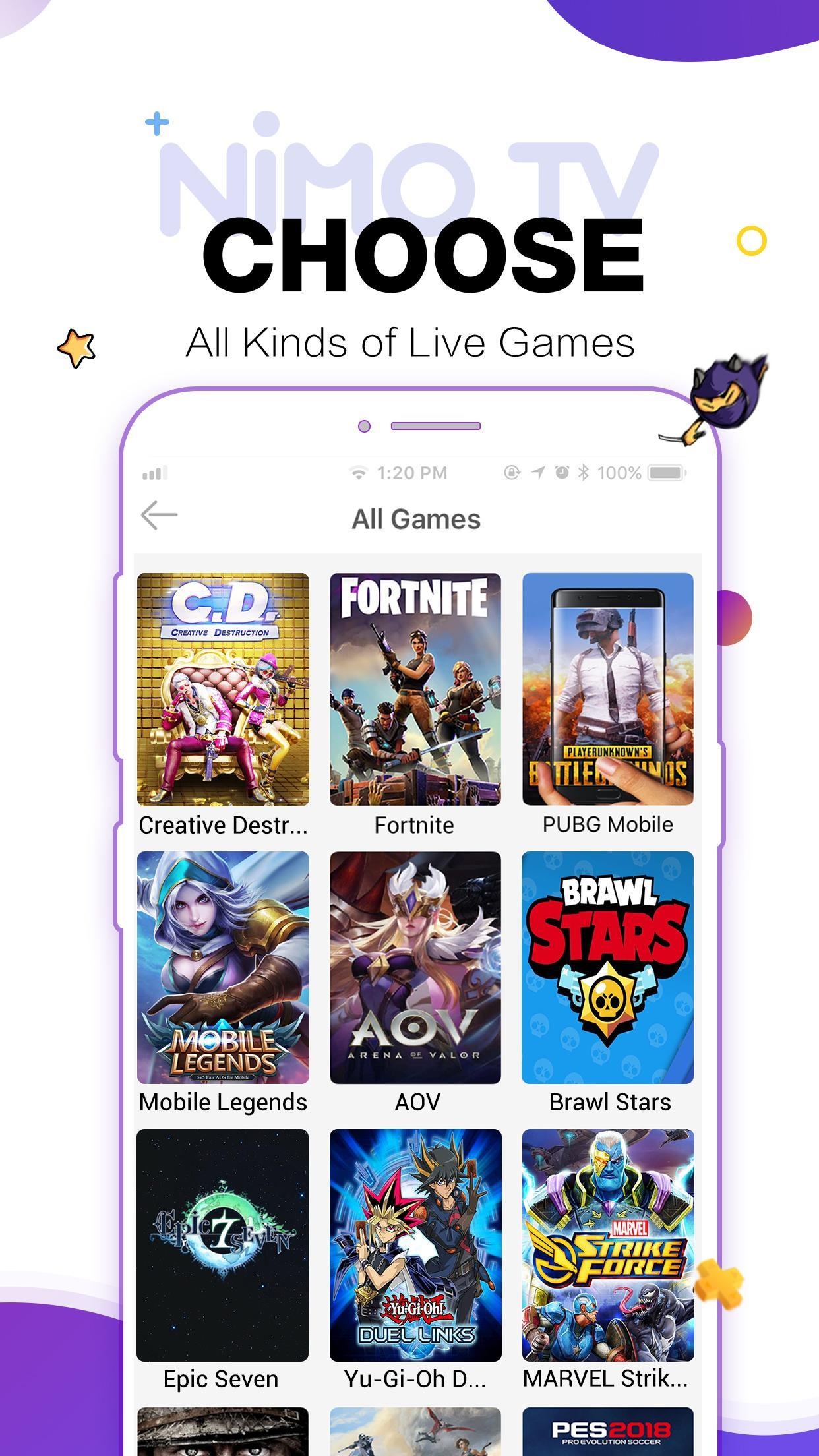 Nimo TV for Android - APK Download