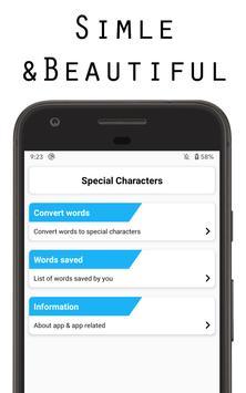 Special Characters screenshot 3