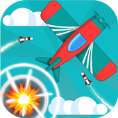 Plane dodge and Go! Pilot stars icon