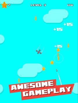 Plane dodge and Go! Pilot stars screenshot 2