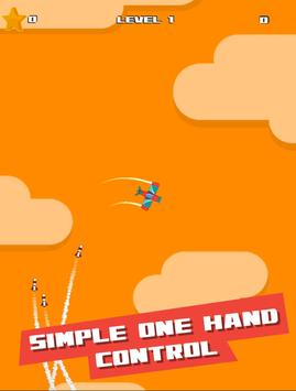 Plane dodge and Go! Pilot stars screenshot 3