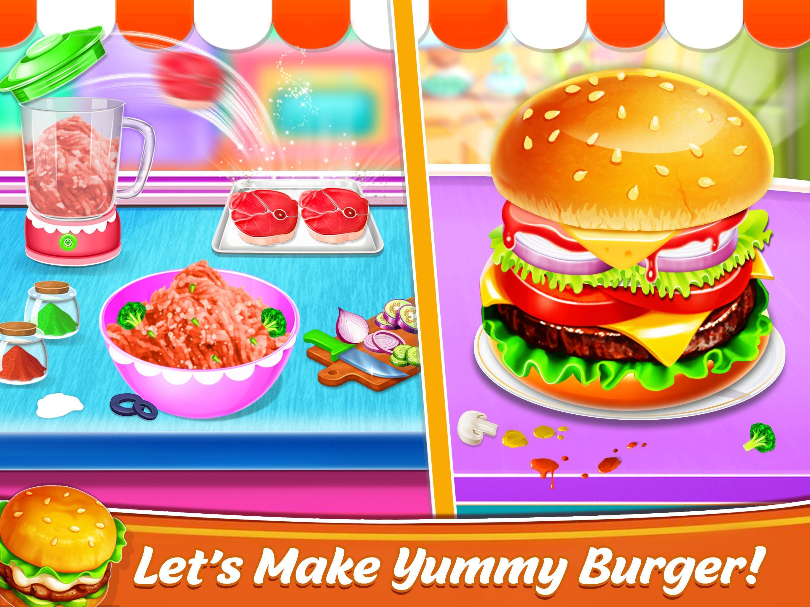 Burger Memasak Permainan Cepat Makanan Pembuat For Android Apk Download