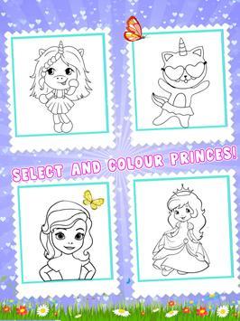 Princess Color Book Painting Fun screenshot 8