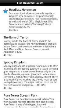 Find Local Haunted Houses poster