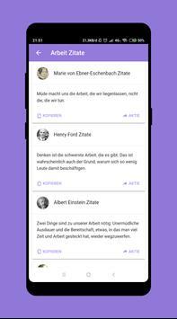 Zitate und Sprüche in Deutsch screenshot 4