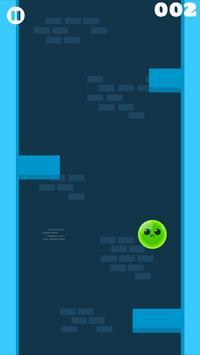 Baby Slime Climb the Tower: Green Splash Warrior poster