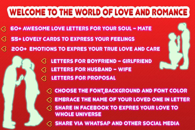 Romantic Love Letters Apk 2 0 5 Download For Android Download Romantic Love Letters Apk Latest Version Apkfab Com