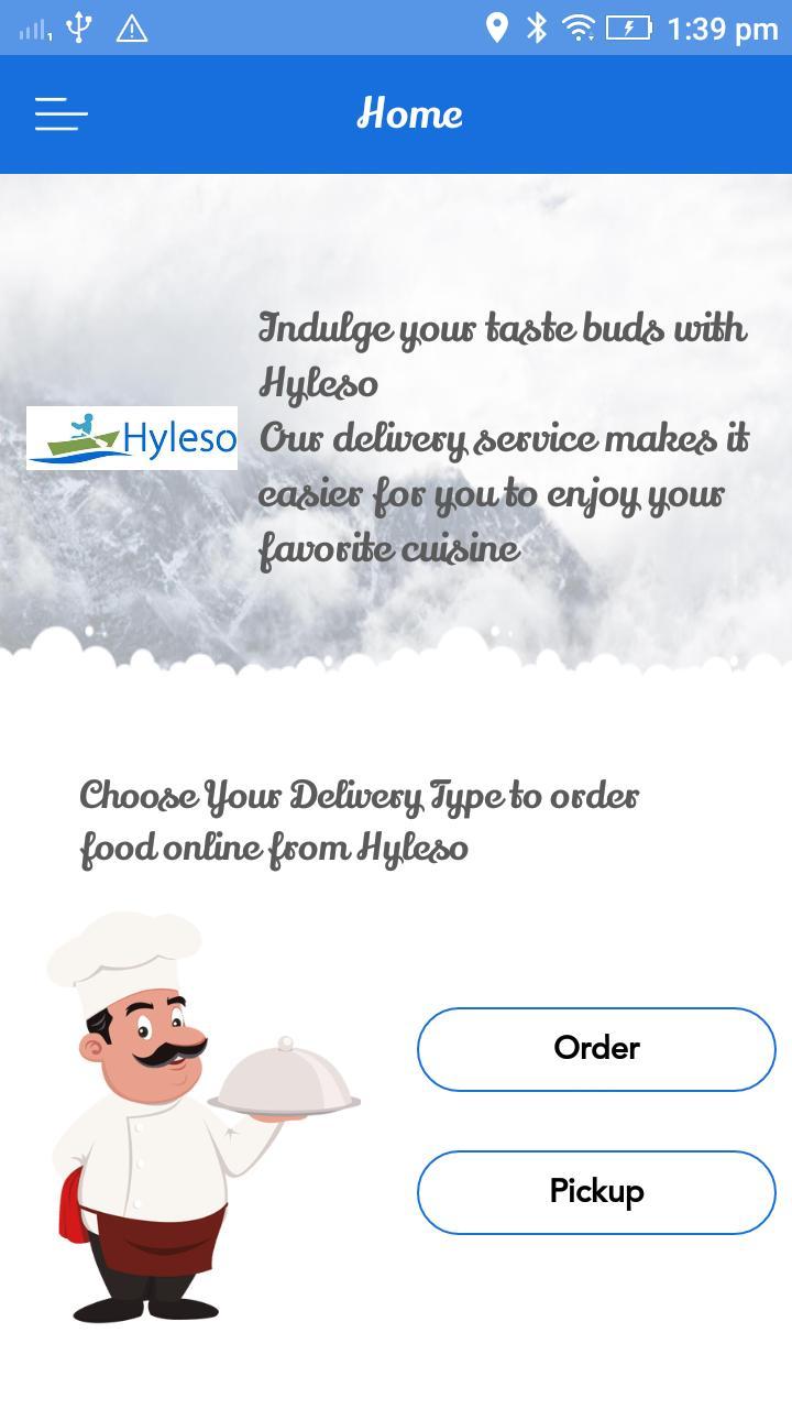 Hyleso customer poster