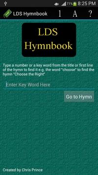 LDS Hymnbook poster