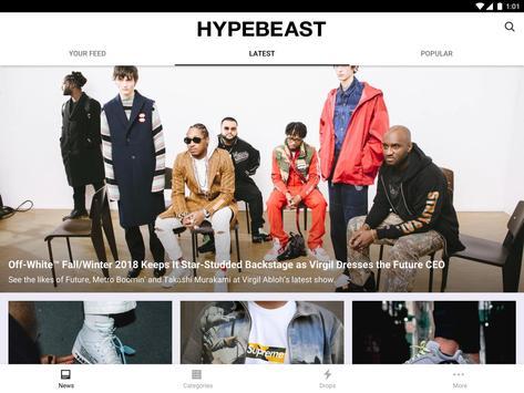 HYPEBEAST تصوير الشاشة 9