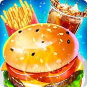 Cooking City Crazy Chef Restaurant Game 2019 icon